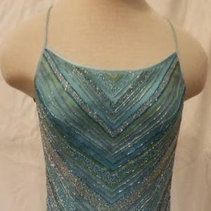 Cache Beaded Maxi Dress